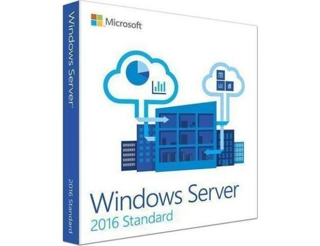 Windows Svr Std 2016 64Bit English 1pk DSP OEI DVD 16 Core - P73-07113