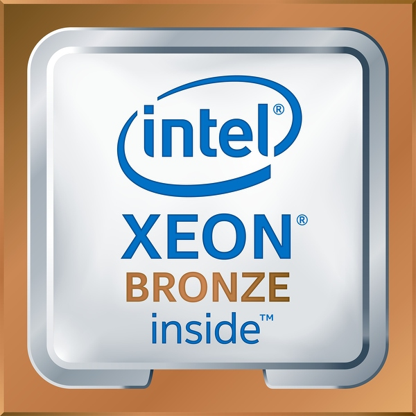 Intel  Xeon  Bronze 3106 1.7G, 8C/8T, 9.6GT/s, 11M Cache, No Turbo, No HT (85W) DDR4-2133 CK
