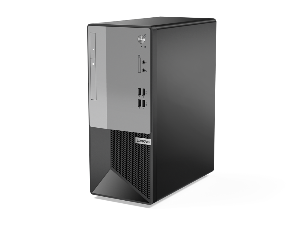 PC Lenovo V50t/ i5-10400(2.9GHz,6C,12M)/ 4GB/ 256G SSD/ DVDRW/ Intel 3165 11ac + BT4/ Win10 Home 64/ Tower - 11ED0048VN