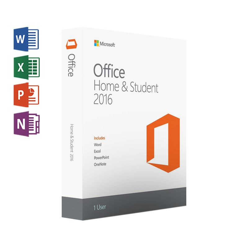 Office Home and Student 2016 Win English APAC EM Medialess - 79G-04363